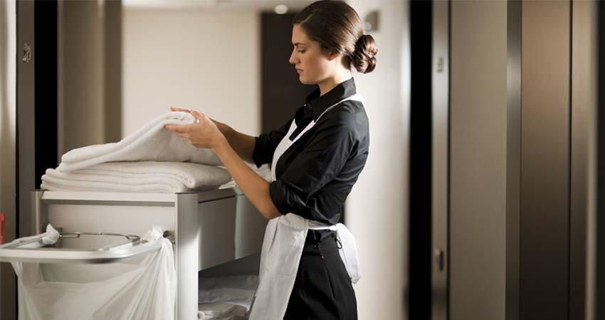camarera de piso.
